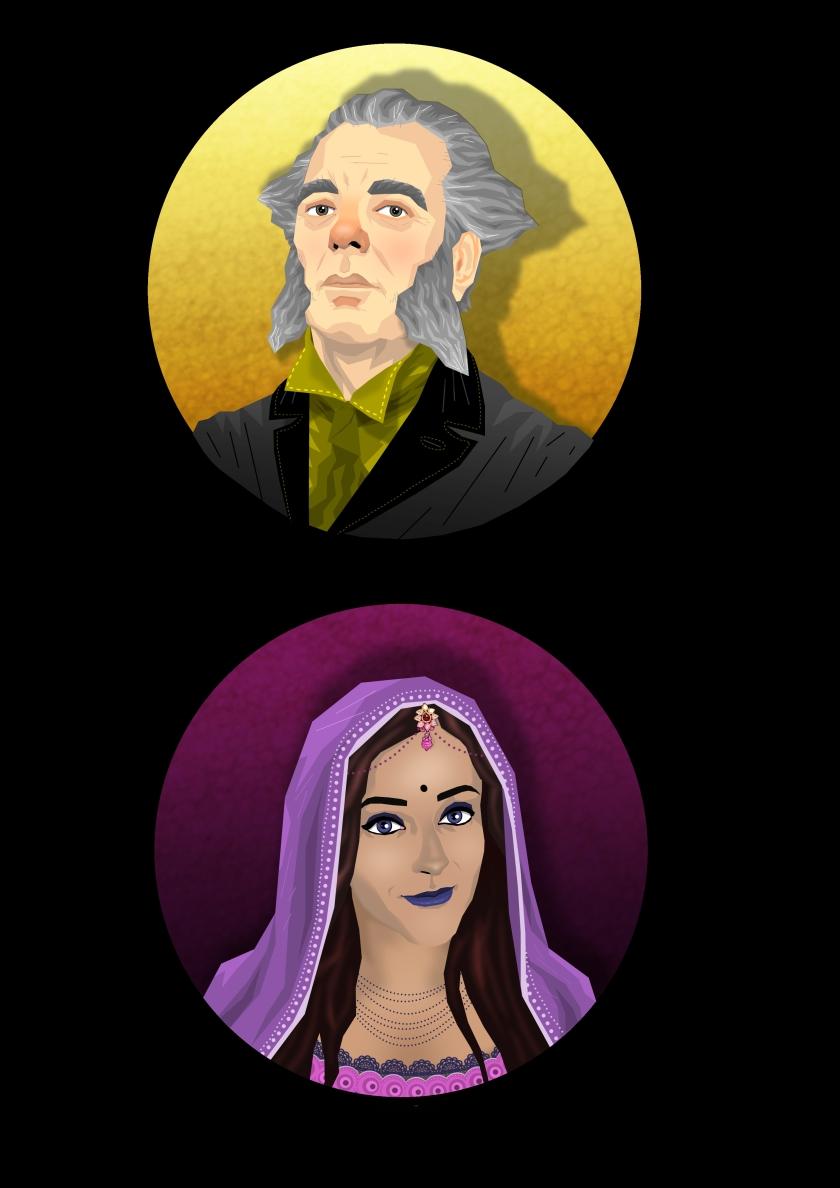 character portraits 3 & 4